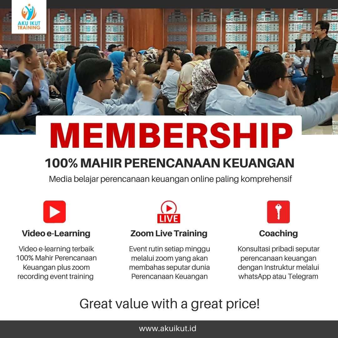 Membership Training Perencanaan Keuangan Online
