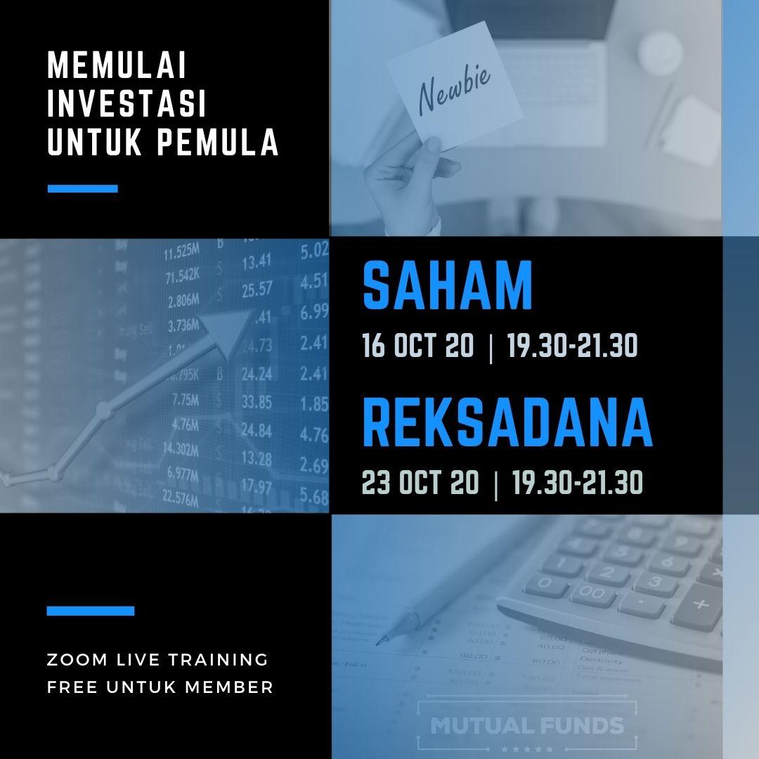 Memulai Investasi Saham & Reksadana