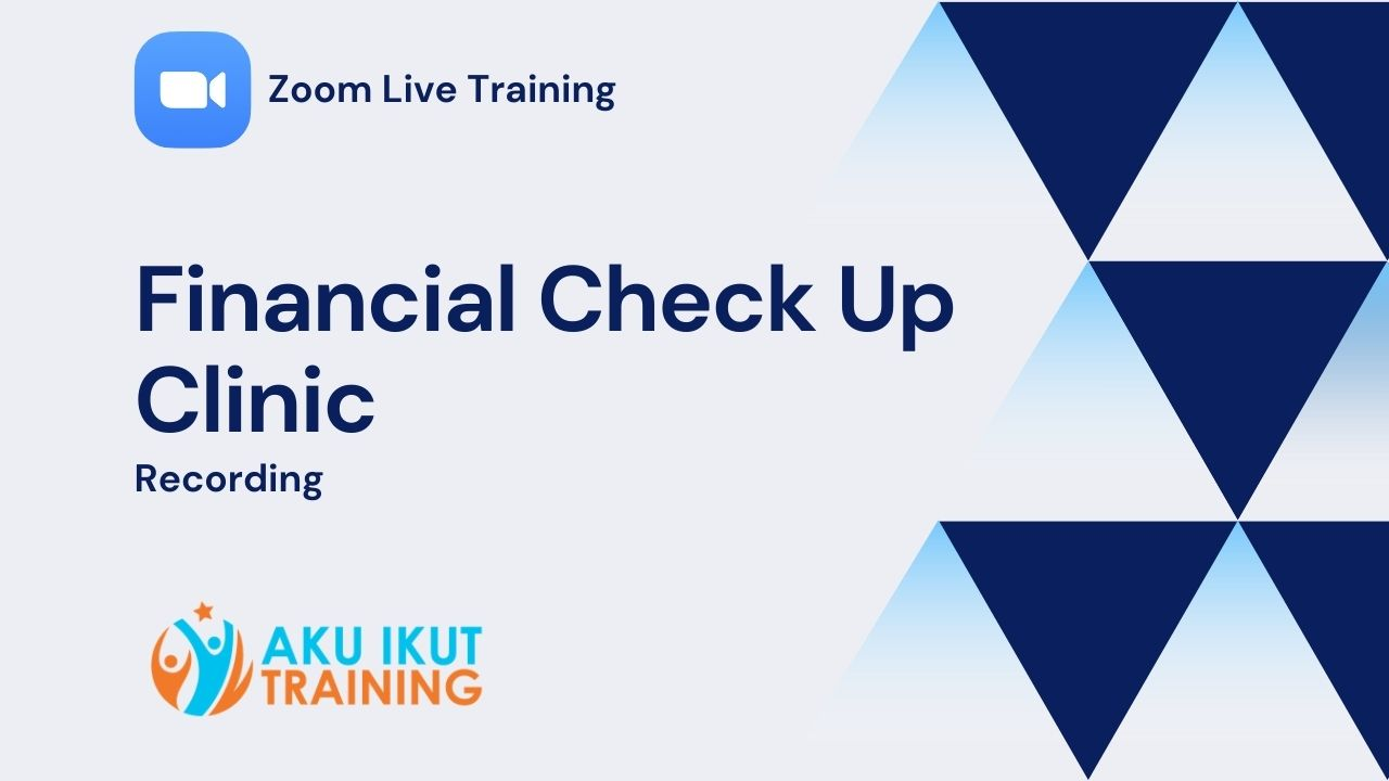 Zoom Financial Check Up Clinic